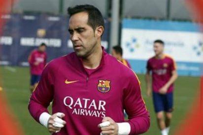 Sin 'jueguecitos': Claudio Bravo prepara una contundente respuesta al Barça
