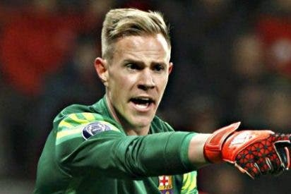 Ter Stegen, baja para la ida de la Supercopa contra el Sevilla