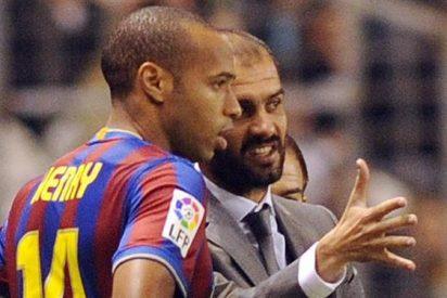 Thierry Henry revela algunas intimidades del Pep Guardiola entrenador