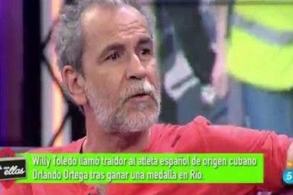 """El castrista Willy Toledo en 'Hable con ellas': """"Paolo Vasile me ha vetado una y otra vez"""""""