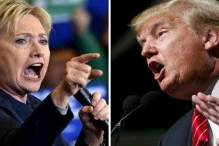 Donald Trump se desploma en las encuestas frente a Hillary Clinton