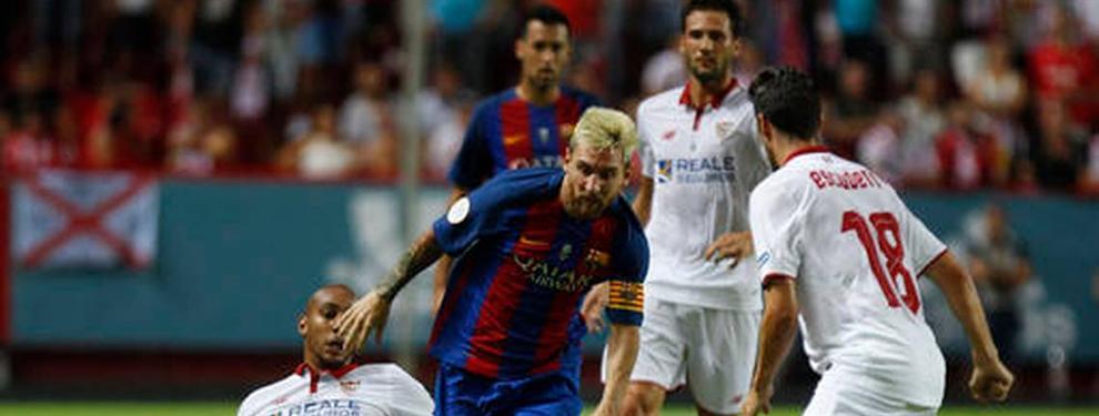 Un club de la liga francesa quiere dejar al Sevilla sin una de sus piezas clave