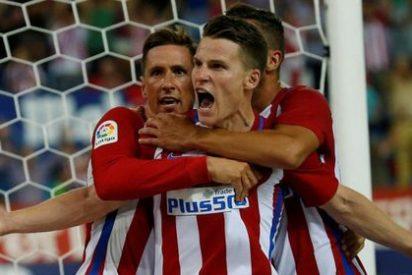 Gameiro demuestra que no es otro 'Jackson Martínez' y contribuye a la goleada ante el Gijón