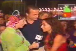 María Patiño borracha con el Conde Lequio