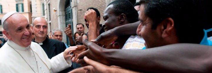 """Francisco reclama una """"oportunidad de integración"""" para los migrantes llegados a Europa"""