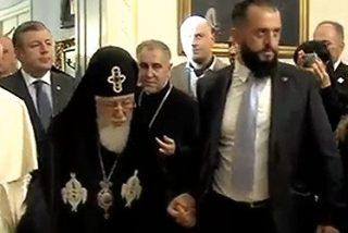 """El Papa, a Ilia II: """"Que las dificultades no sean un obstáculo, sino un estímulo que nos ayude a conocernos mejor"""""""