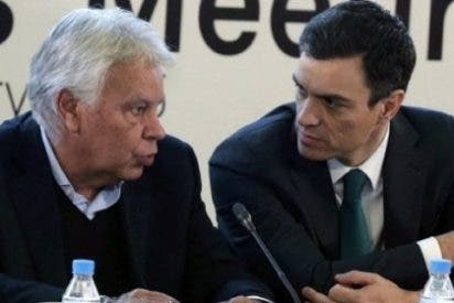 Felipe González dice en la SER que Pedro Sánchez le ha engañado