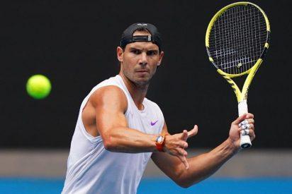 Open de Australia: Rafa Nadal enloquece a Melbourne en su estreno, pese a los dolores de espalda