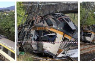 Adif abre una investigación para determinar las causas del accidente de O Porriño