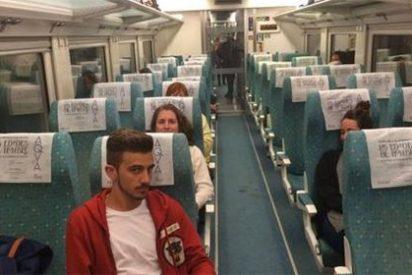 El maquinista que dejó compuestos y sin viaje a 109 pasajeros