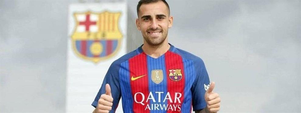 Así convenció Luis Enrique a Paco Alcácer para fichar por el FC Barcelona
