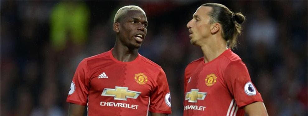 Así convenció Mourinho a Pogba para que se olvidara del Madrid