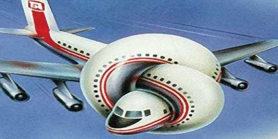 El despistado del piloto se equivoca y lleva a los pasajeros a un destino equivocado