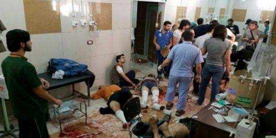 El régimen de Bashar al Assad bombardea dos hospitales y la ONU lo acusa por crímenes de guerra