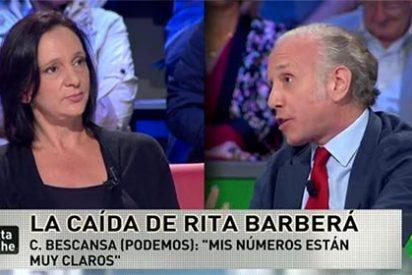 """'Zasca' de Inda a Bescansa: """"Que deis clases de ética es como si Mario Conde hablase de honradez"""""""