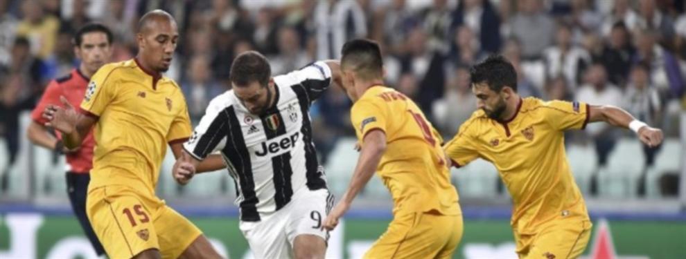 ¡Bien Sampaoli! Sevilla rescató un punto en su visita a Turín