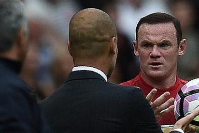 ¡Casi se van a las manos! La bronca entre Pep Guardiola y Wayne Rooney