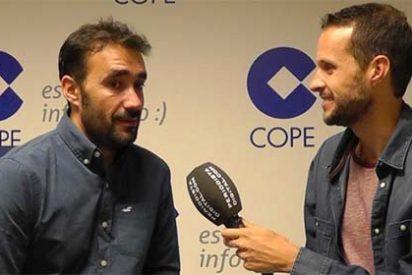 """Juanma Castaño: """"Me preocupa más el cansancio y estar fresco que la sobreexposición de estar en COPE y en Cuatro"""""""