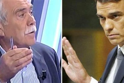 "Pérez Henares se mofa del nuevo papel de Pedro Sánchez: ""¡Se cree la reina madre!"""