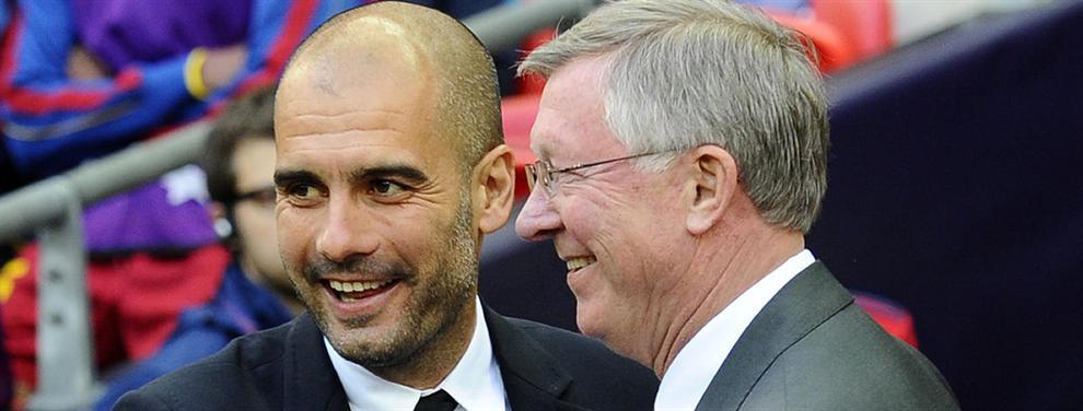 Confidencial: Cuando el Manchester United quiso a Guardiola y no a Mourinho