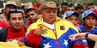 [VÍDEO] El narco Diosdado Cabello no se corta un pelo y se chotea de la 'Toma de Caracas'