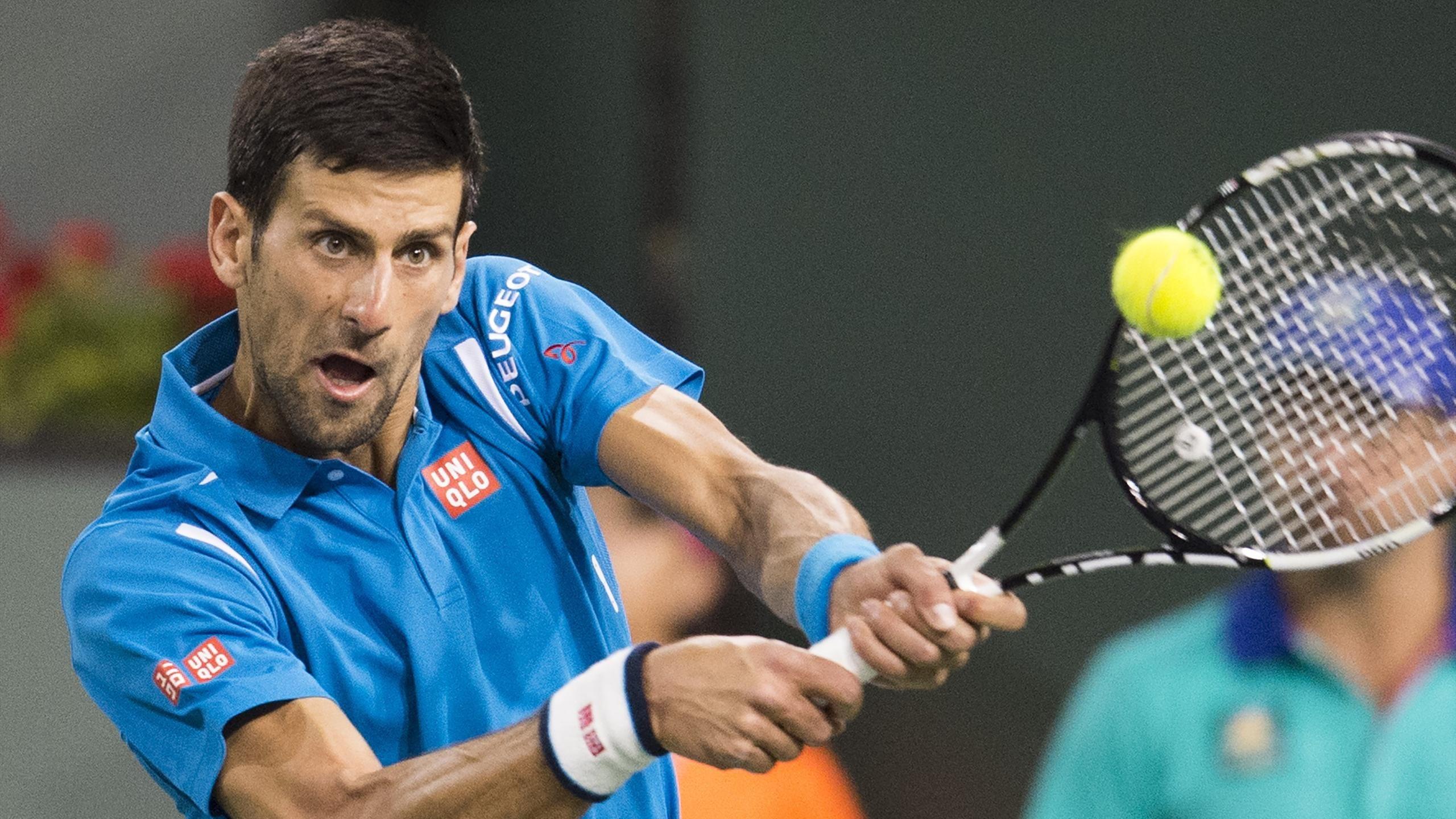 Novak Djokovic pasa a cuartos de final tras ganar al británico Kyle Edmund