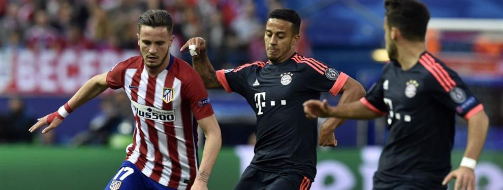 El Atlético de Madrid asusta al Bayern de Múnich