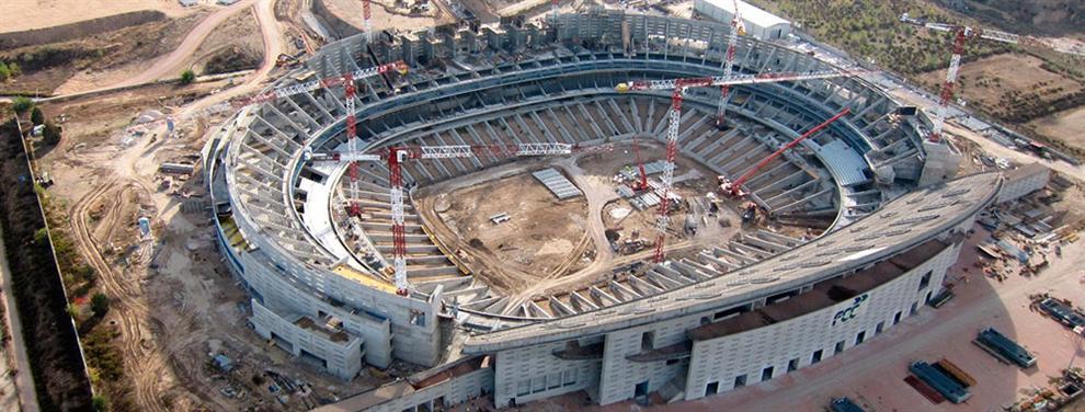 El Atlético de Madrid puede quedarse sin nuevo estadio en 2017