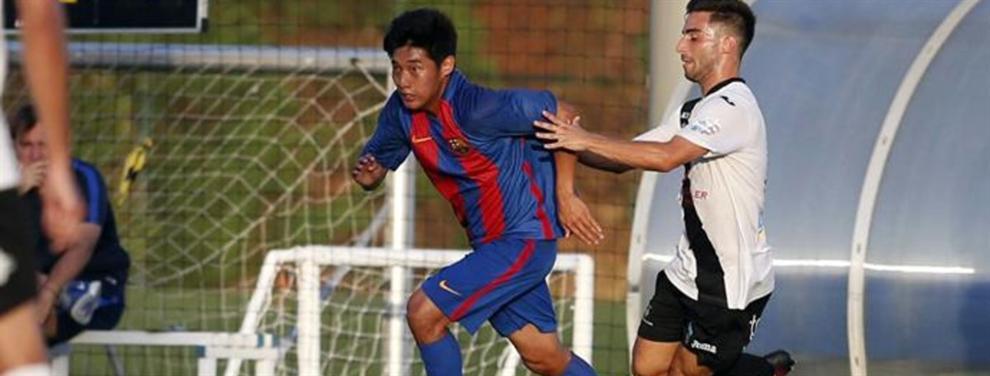 El coreano al que la FIFA ha dejado tres años sin jugar con el Barça