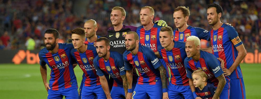 El DT del Barça ya decidió a quién le cortará la cabeza por la última derrota