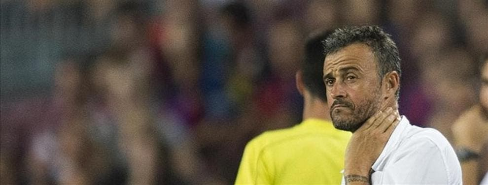 """El """"enchufado"""" de Luis Enrique en la plantilla del FC Barcelona"""