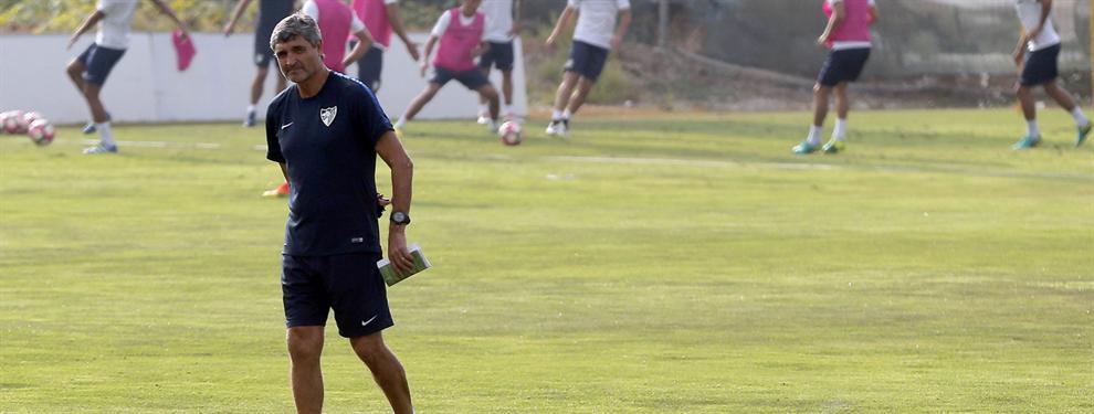 El (feo) mensaje de un delantero del Málaga en clave Juande Ramos