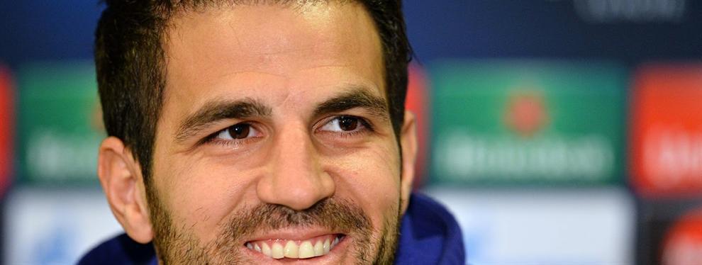 El futuro de Cesc Fàbregas podría estar? ¡En la Liga!