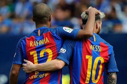 El jugador del Barça al que se le atragantó el golazo de Rafinha