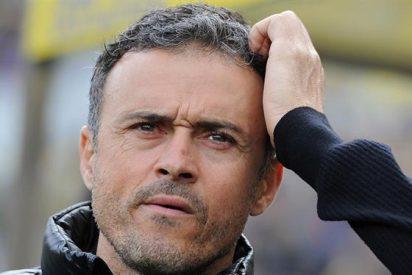 """Luis Enrique: """"He estado sufriendo porque con 0-2 el Sporting estaba en el partido"""""""