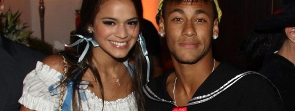 El mejor regate que prepara Neymar para Antonella Roccuzo y Sofía Valvi