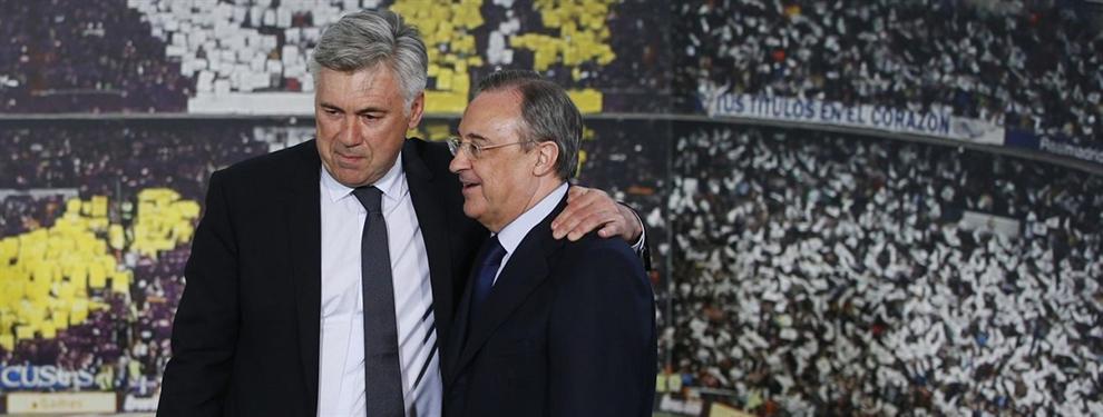 El mensaje envenenado que le ha enviado Carlo Ancelotti a Florentino Pérez