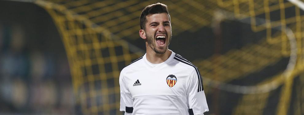 El 'palito' de José Luis Gayá a Pako Ayestarán tras su salida del Valencia