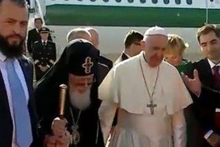 El Papa Francisco llega a Georgia como mensajero de la paz