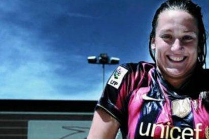 El problema del FC Barcelona con (la chaquetera) Mireia Berlmonte