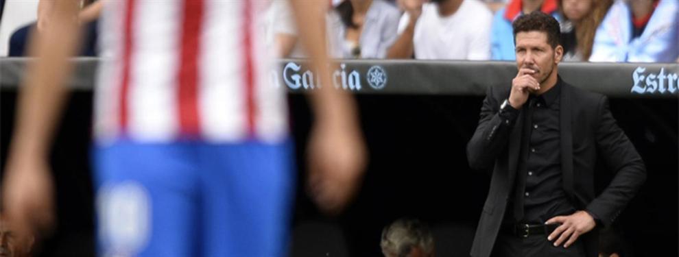 El tapado del Cholo Simeone para reforzar la defensa del Atlético de Madrid