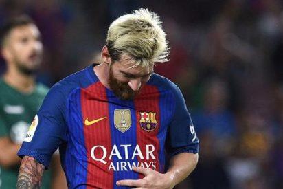 El tremendo enfado de Lionel Messi tras la derrota ante el Alavés