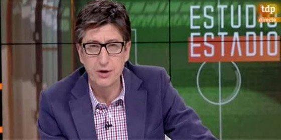 """En 'Superdeporte' se les va la olla: """"No soporto que en la TVE que pagamos todos salga el 'caraigual' de Juan Carlos Rivero"""""""