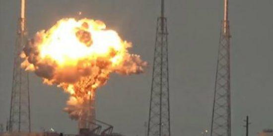 El vídeo de la terrible explosión del cohete de SpaceX en Cabo Cañaveral