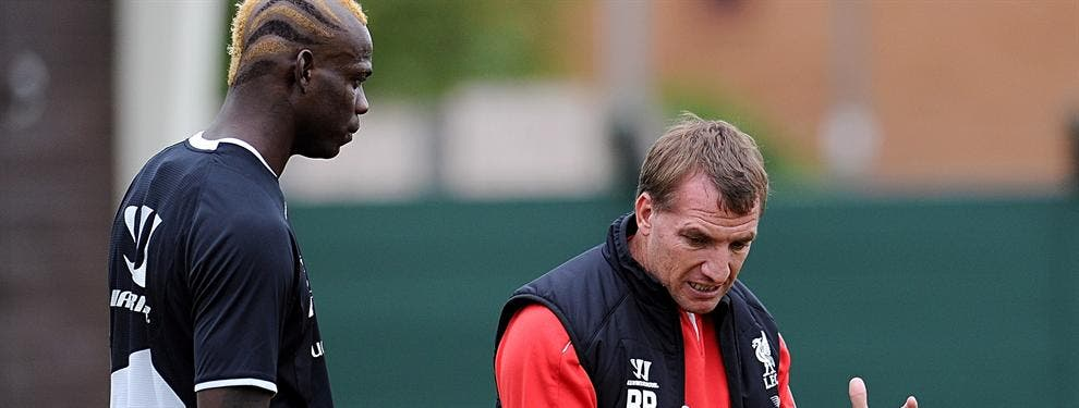 Filtran uno de los primeros incidentes de Mario Balotelli en el Liverpool