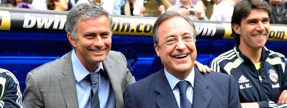 ?Florentino me pidió que limpiara el vestidor del Madrid?: Mourinho