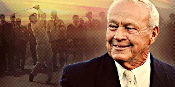 Asi era Arnold Palmer, el 'Rey' del golf