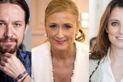 Tonteo a tres en Twitter entre Pablo Iglesias, Cristina Cifuentes y Andrea Levy