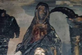 El condenado por quemar imágenes en Fontellas también derribó una cruz en Ribaforada