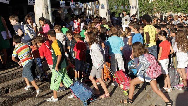 Un total de 184.417 escolares ha comenzado las clases en Castilla y León con normalidad